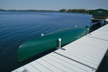 Pier Pleasure Canoe Rack - Store your canoe or kayak on your dock.