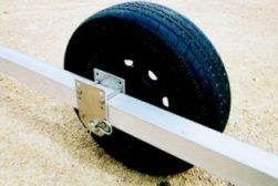 Pier Pleasure Boat Lift Wheel Kit - Rubber tires