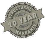 20 Year Warranty Seal