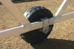Pier Pleasure Boat Lift Wheel Kit - Rotomolded wheels