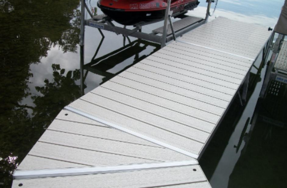 Pier Pleasure Dock Wedge Section For Sale